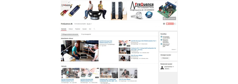 YouTube - her er kanalen for højttaler selvbyg på dansk
