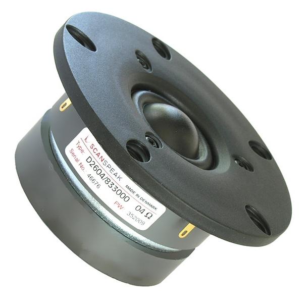 26 mm Diskant 4 Ohm DX double magnet