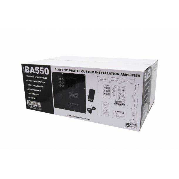 Earthquake BA-550