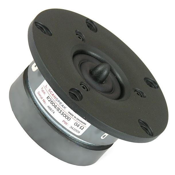 26 mm diskant 4 Ohm XT dobbel magnet