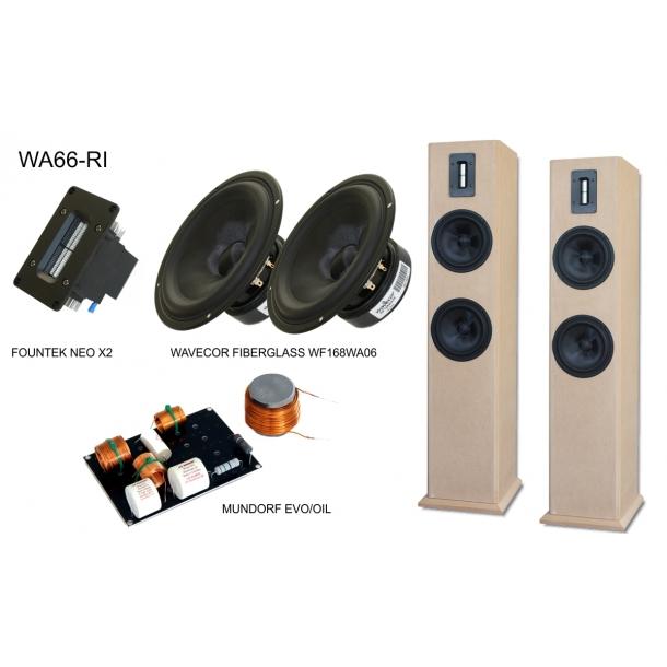 WA66-RI Stereos�t/Kit